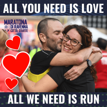 LA PROMO PER SAN VALENTINO! ALL YOU NEED IS LOVE, ALL WE NEED IS RUN!