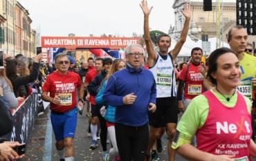 Martini Good Morning Ravenna 10,5K, una grande festa per tutta la città