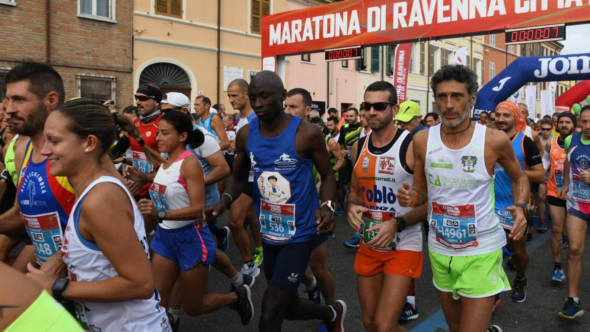 RAVENNA MARATHON, 1.300 REGISTRATIONS AT 200 DAYS FROM THE EVENT