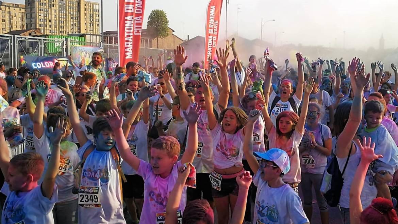 «COLOR4FUN» Ravenna, è stata una festa colorata per tante famiglie