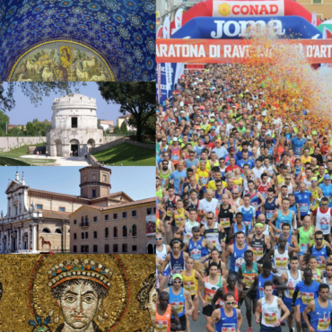 RAVENNA MARATHON, THE SPORT AND THE ART SPORT AND ART WITH MANY DISCOUNTS