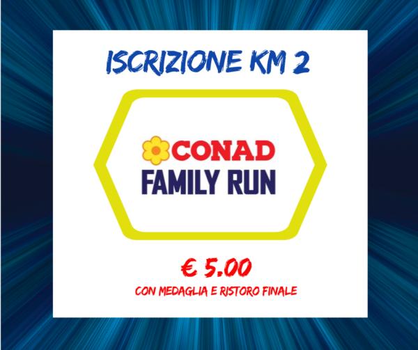 CONAD FAMILY RUN €5