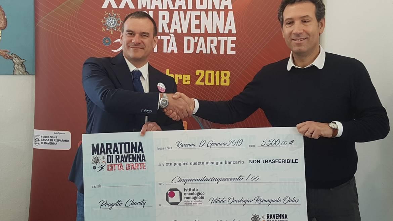 (Italiano) Si rinnova la partnership tra Maratona di Ravenna e Istituto Oncologico Romagnolo