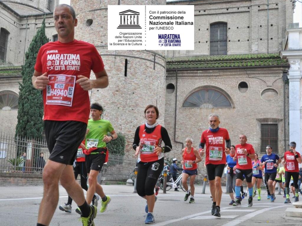 UNESCO recognizes the patronage of the Ravenna Marathon