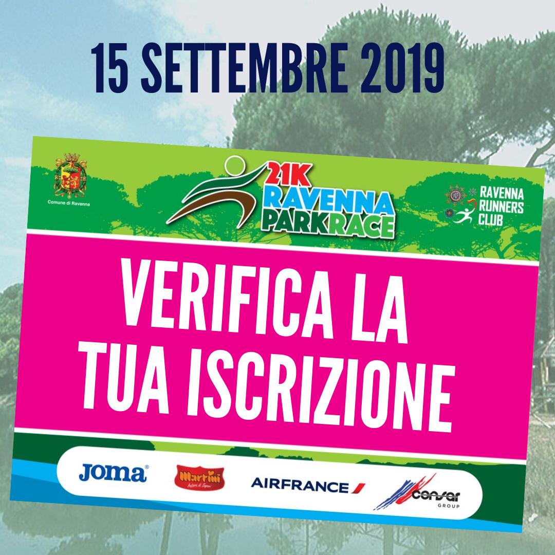 (Italiano) Verifica la tua iscrizione a Ravenna Park Race e il tuo numero di pettorale