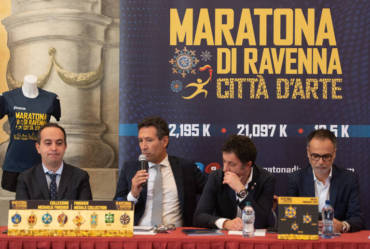 The 2019 edition of the Ravenna Marathon City of Art was officially presented