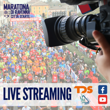 DOMENICA 10 NOVEMBRE LA MARATONA DI RAVENNA IN DIRETTA VIDEO STREAMING
