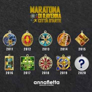 JANUARY 14TH THE PRESENTATION OF ANNAFIETTA'S MEDAL FOR RAVENNA MARATHON 2020