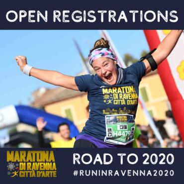OPEN REGISTRATION FOR RAVENNA MARATHON 2020, TRAVELING WITH US