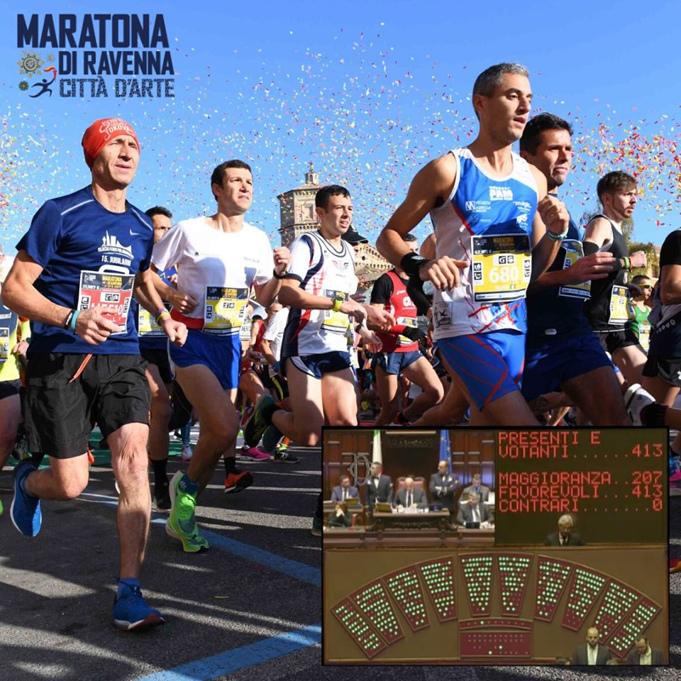 The process continues to make it easier for foreigners to participate in Italian marathons