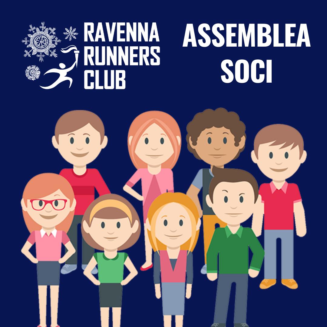 (Italiano) Convocazione assemblea ordinaria dei soci di Ravenna Runners Club Asd