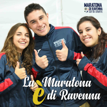«THE MARATHON IS RAVENNA», BECOME VOLUNTEER!