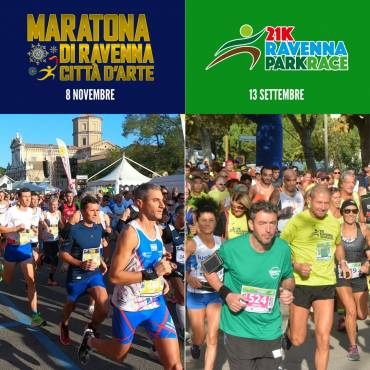 RAVENNA RUNNERS CLUB REGISTRATION PACKAGES, UNMISSABLE OCCASIONS!