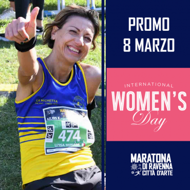 ON MARCH 8, GIVE A DIFFERENT GIFT, GIFT THE RAVENNA MARATHON!
