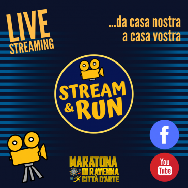 FROM OUR HOME TO YOURS, WITH «STREAM & RUN» THE RAVENNA MARATHON GOES LIVE