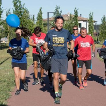 "Great success for the first ""Plogging Day"" organized in Ravenna"