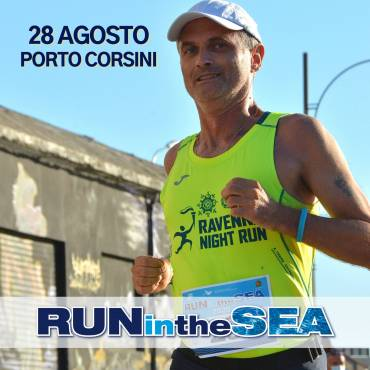 "Friday 28 August ""Run in the Sea"" at the Porto Corsini Dam"