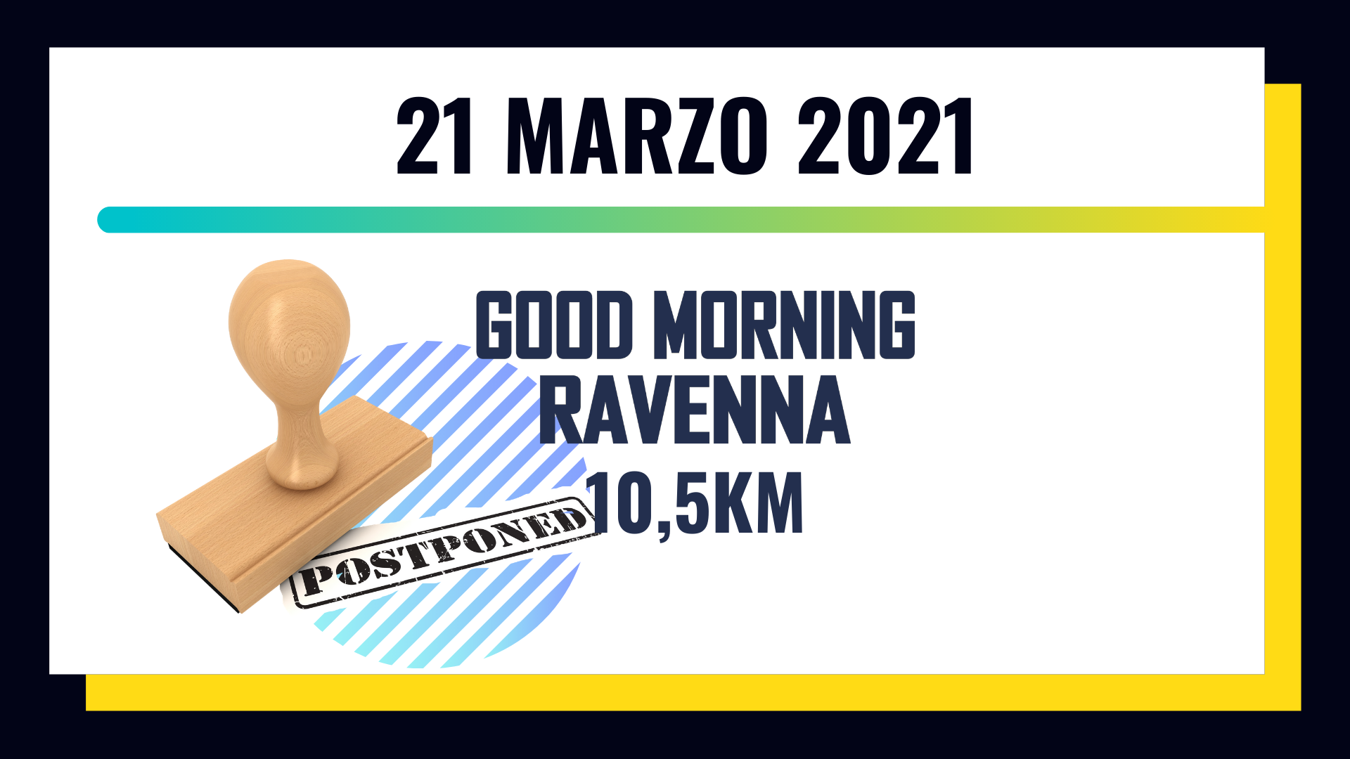 GOOD MORNING RAVENNA _10,5 KM