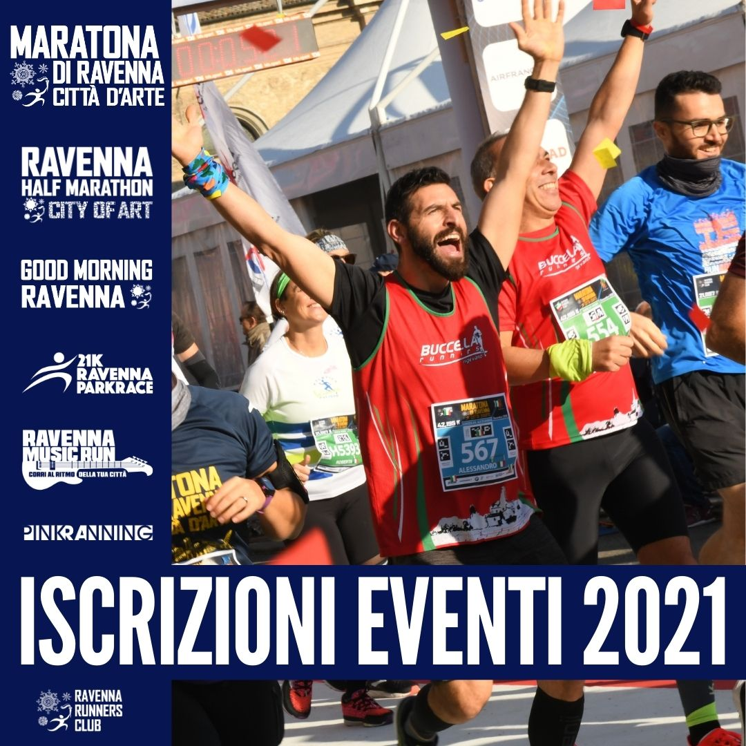 FROM MONDAY 1 MARCH REGISTRATION OPEN FOR THE 2021 EVENTS