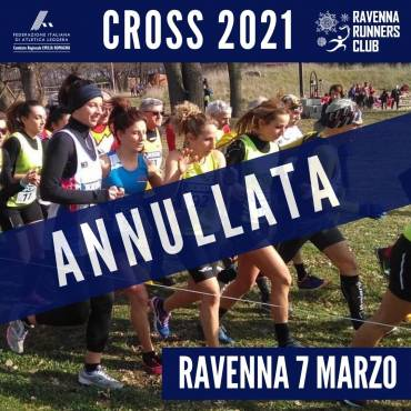 FIDAL EMILIA-ROMAGNA ANNOUNCES THE CANCELLATION OF THE CROSS ON MARCH 7 IN RAVENNA