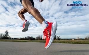 HOKA ONE ONE NEW TITLE SPONSOR, RAVENNA MARATHON READY TO FLY
