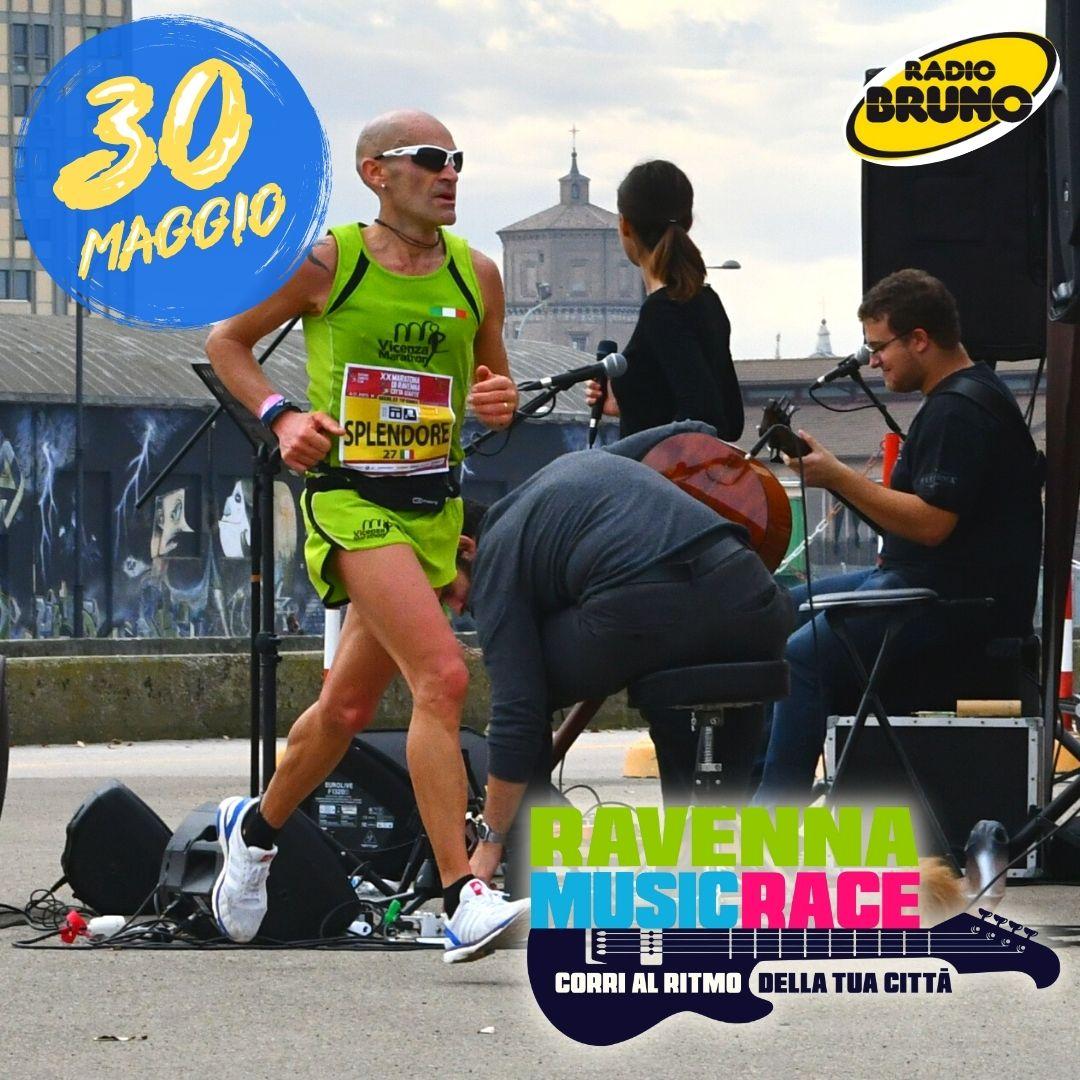 RAVENNA MUSIC RACE, DOMENICA 30 MAGGIO LA 10,5 KM TUTTA MUSICA!