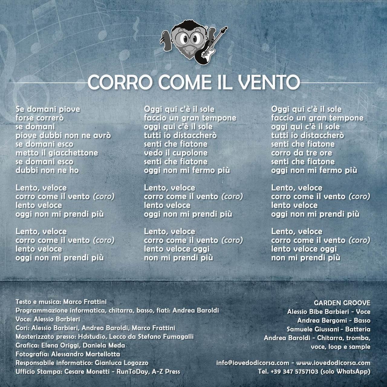 """""""Corro come il vento"""" is the soundtrack of Ravenna Music Race"""
