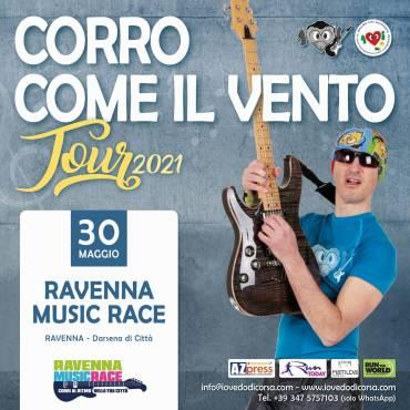 """""""Corro come il vento"""" è la colonna sonora di Ravenna Music Race"""