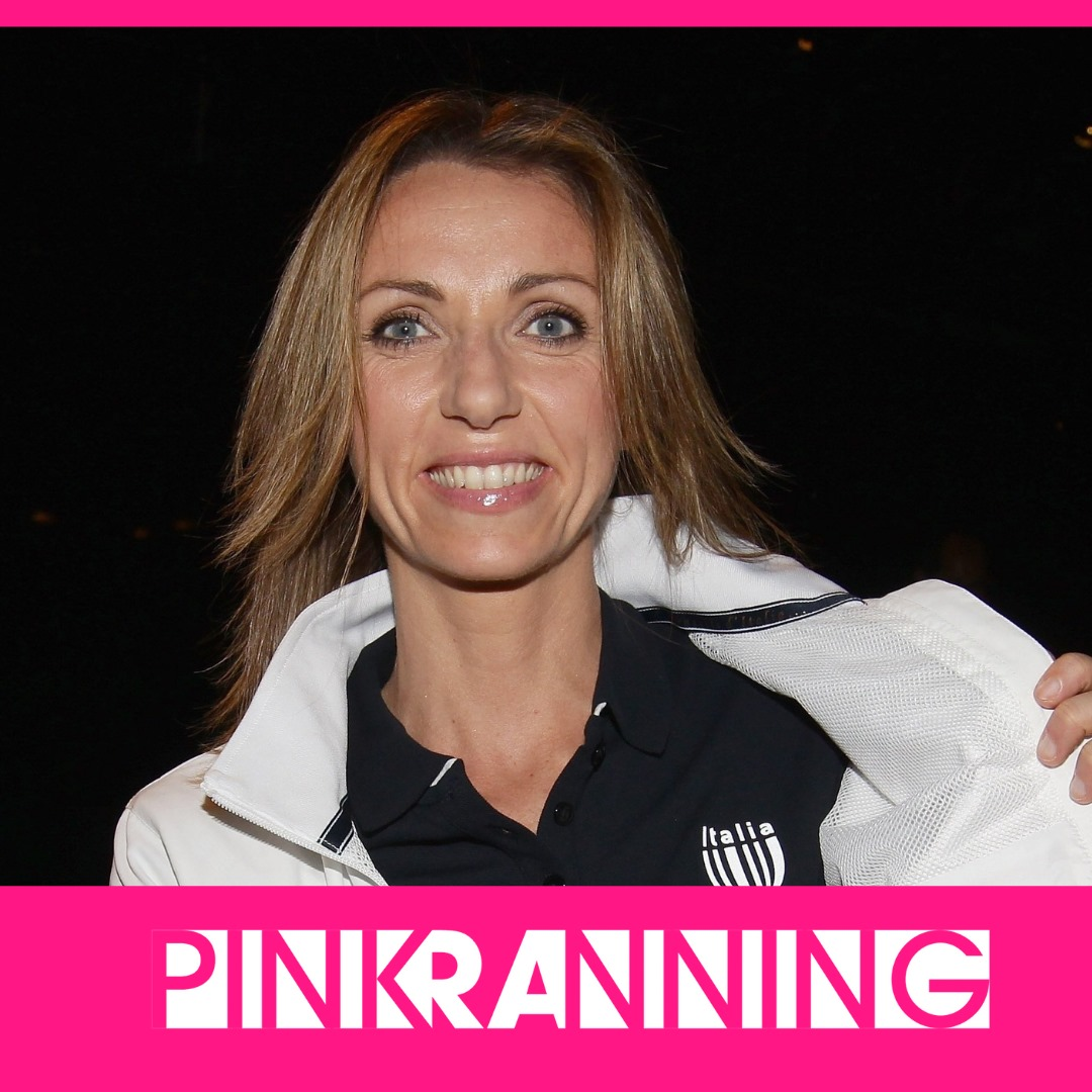 (Italiano) Le parole di Valentina Vezzali a supporto di Pink RAnning