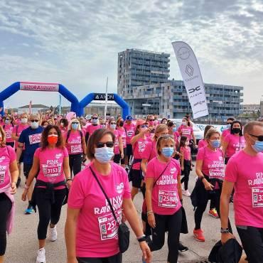 (Italiano) Pink RAnning, un lungo fiume rosa di oltre 2mila persone per dire NO alla violenza sulle donne