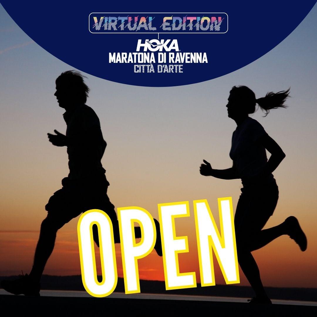 VIRTUAL EDITION HOKA MARATONA DI RAVENNA 2021: ISCRIZIONI APERTE!!!