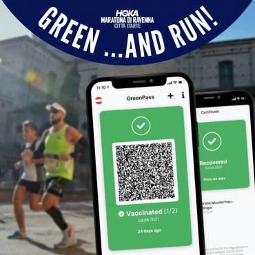 (Italiano) Green… and Run! Alla Hoka Maratona di Ravenna con il Green Pass